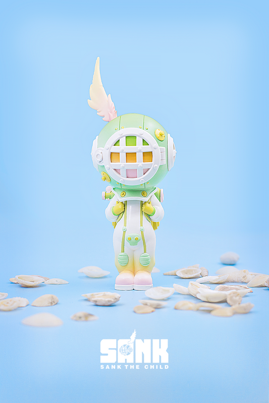 On the Way Series The Diver Green by Sank Toys PRE-ORDER SHIPS OCT 2020