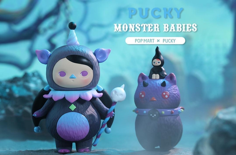 Pucky Monster Babies Mini Series Blind Box