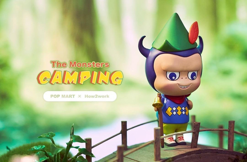 The Monsters Camping Labubu Mini Series Blind Box by Kasing Lung PRE-ORDER SHIPS NOV 2020