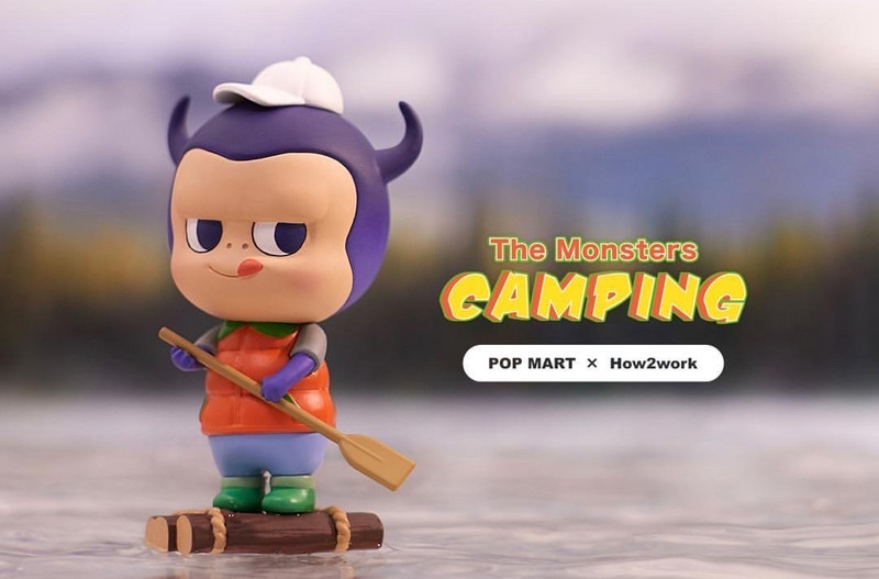 The Monsters Camping Labubu Mini Series Blind Box by Kasing Lung