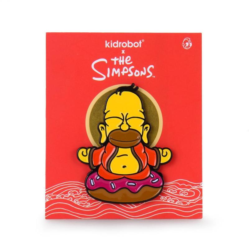 "The Simpsons Homer Buddha 1.5"" Enamel Pin"
