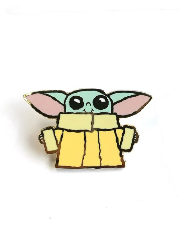 Baby Yodes Enamel Pin by Scott C.