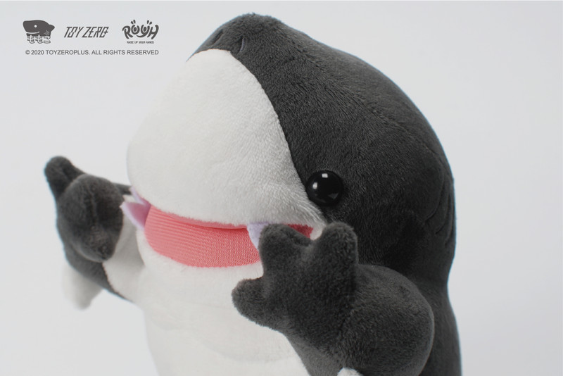 Raise Up Your Hands (R.U.Y.H.) Killer Whale Baby Shark (Plush & Soft Vinyl Set) by Momoco PRE-ORDER SHIPS NOV 2020