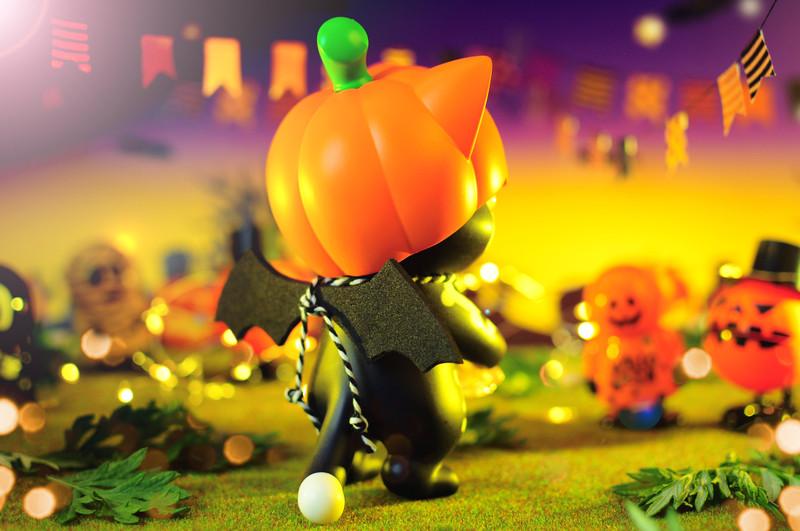 Ohonneko Mr. Pumpkin by k2toy PRE-ORDER SHIPS LATE JAN 2021