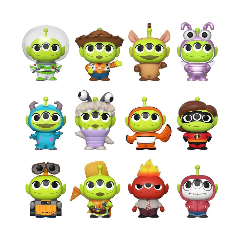 Pixar Alien Remix Mystery Mini Series Blind Box