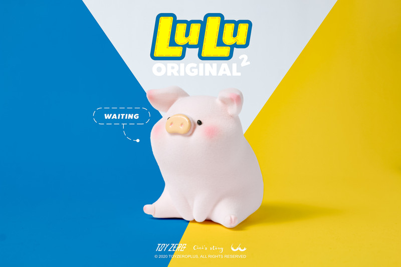 LuLu The Piggy The Original 2nd Series Can of 3 by Cici's Story