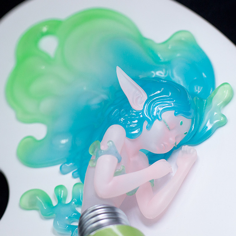 The Sleeping Beauty of Color GID Blue  PRE-ORDER SHIPS Q1 2021
