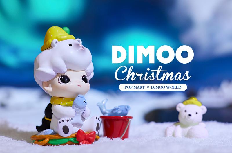 Dimoo Christmas Mini Series by Ayan Blind Box