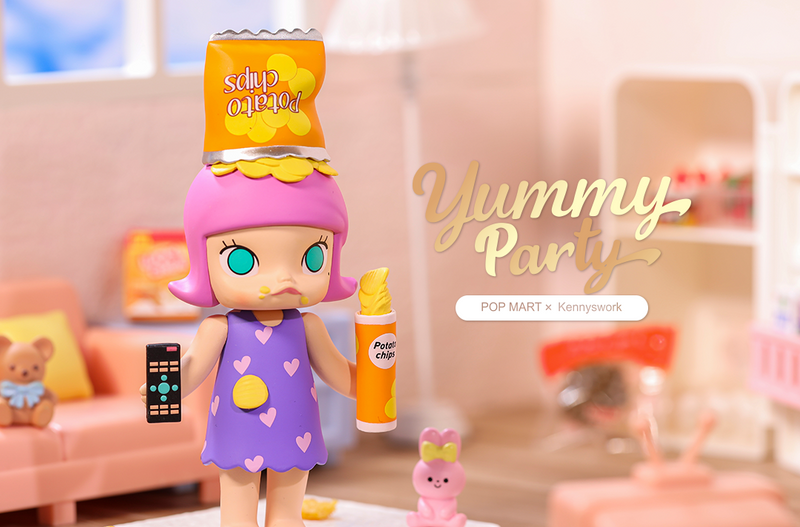 Molly Yummy Party Mini Series Blind Box by Kenny Wong