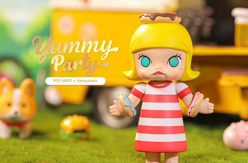 Molly Yummy Party Mini Series Blind Box by Kenny Wong PRE-ORDER SHIPS DEC 2020