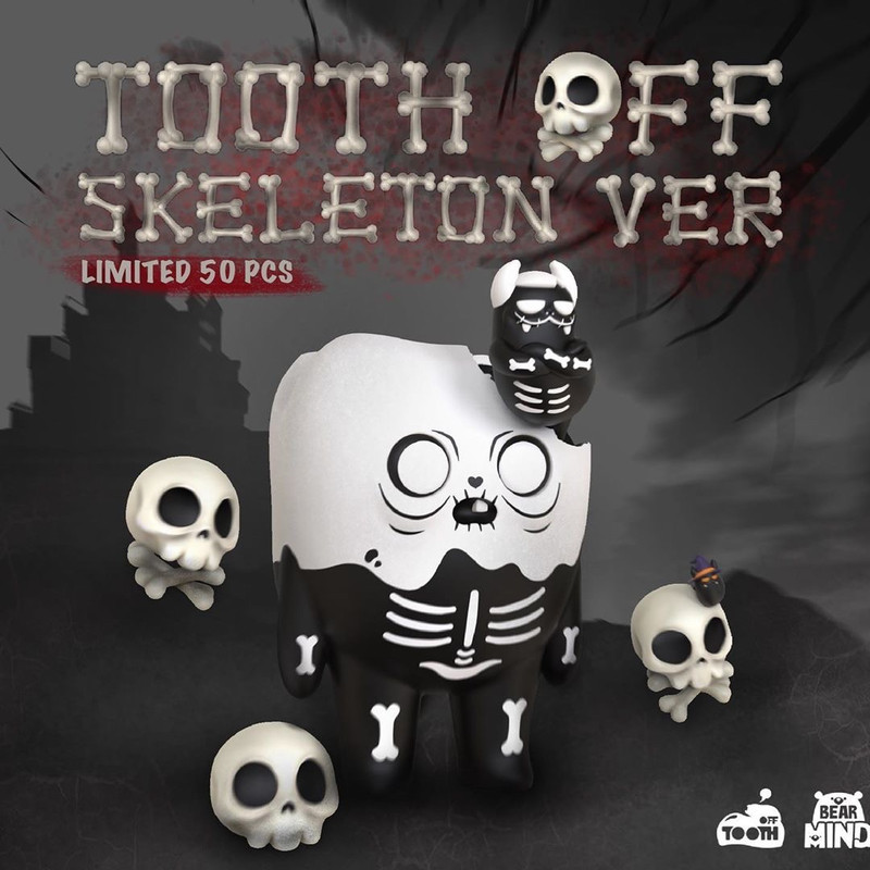 Tooth Off Skeleton PRE-ORDER SHIPS DEC 2020