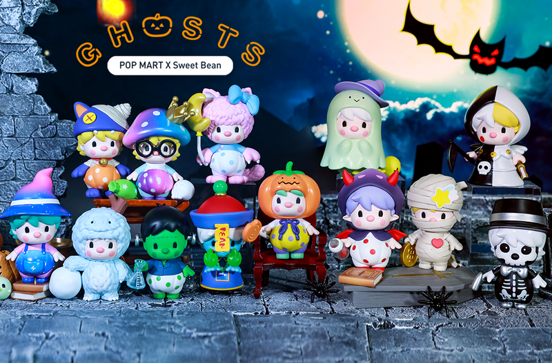 Sweet Bean Ghosts Mini Series Blind Box by PDC