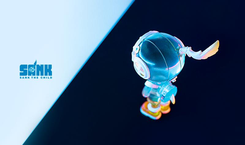 Backpack Boy Spectrum Series Light Blue by Sank Toys PRE-ORDER SHIPS NOV 2020