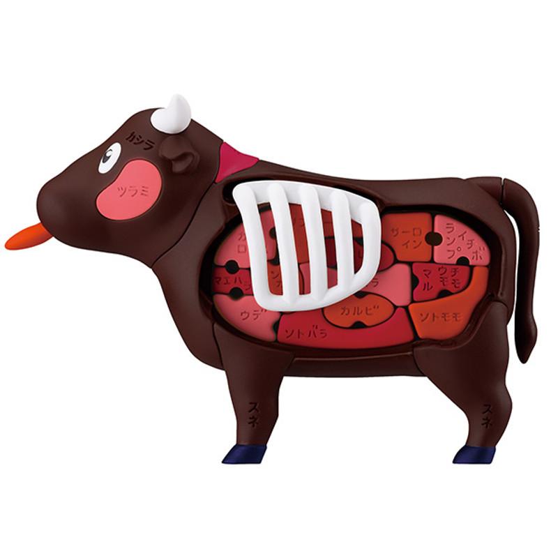3D Cow Puzzle