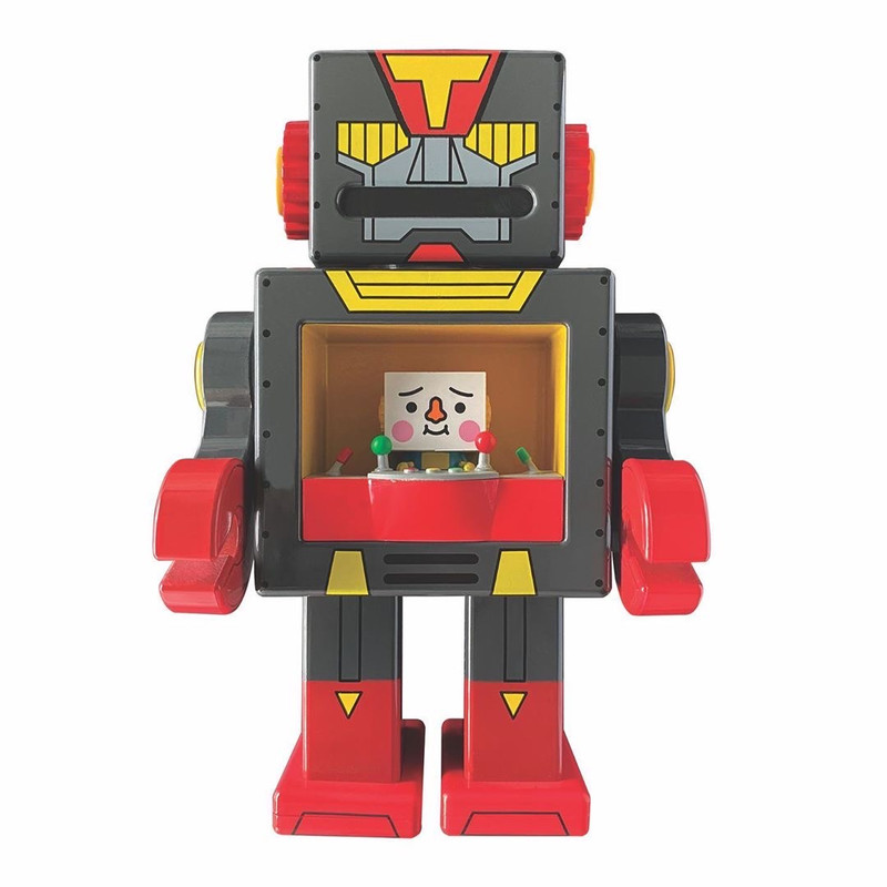 To-Fu Oyako Meets Obot Black Sesame by Devilrobots PRE-ORDER SHIPS DEC 2020