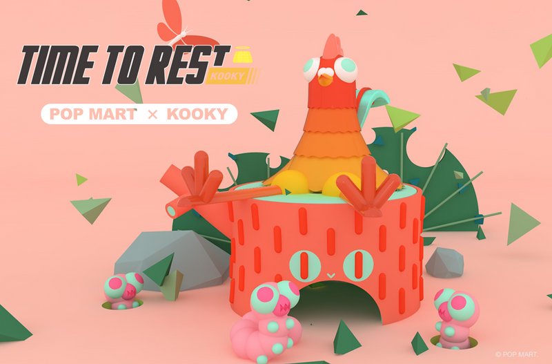 Time to Rest Mini Series Blind Box by Kooky