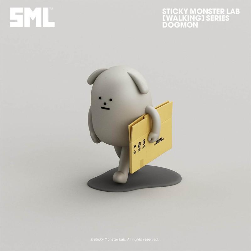 Sticky Monster Lab Mini-Figure Walking Series Blind Box PRE-ORDER SHIPS MAR 2021