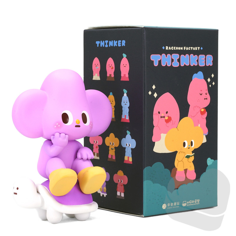 Starfy Thinker Blind Box by Raccoon Factory