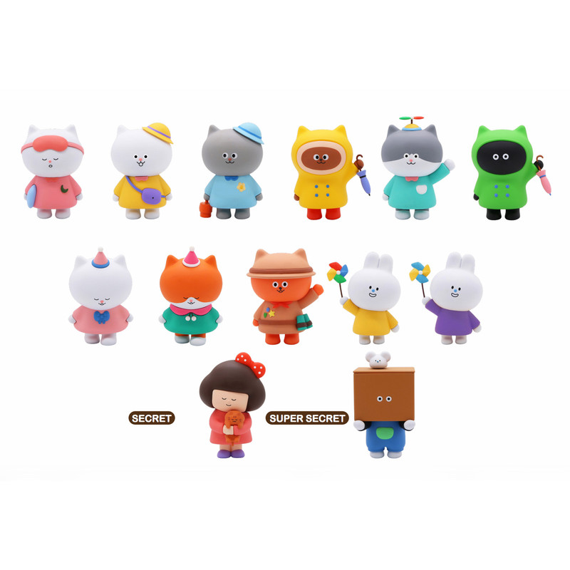 Varietysum With Cat Friends Blind Box PRE-ORDER SHIPS JAN 2021