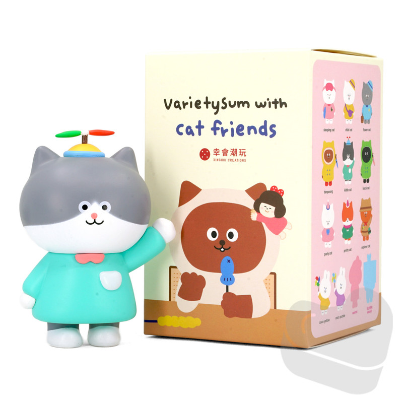 Varietysum With Cat Friends Blind Box