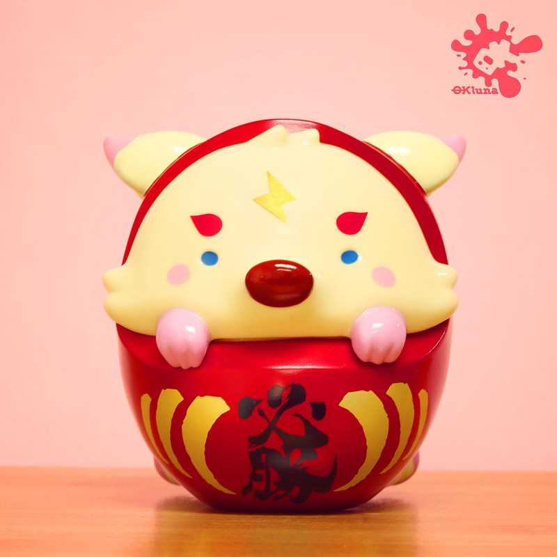 Daruma Fox by OKLuna PRE-ORDER SHIPS DEC 2020