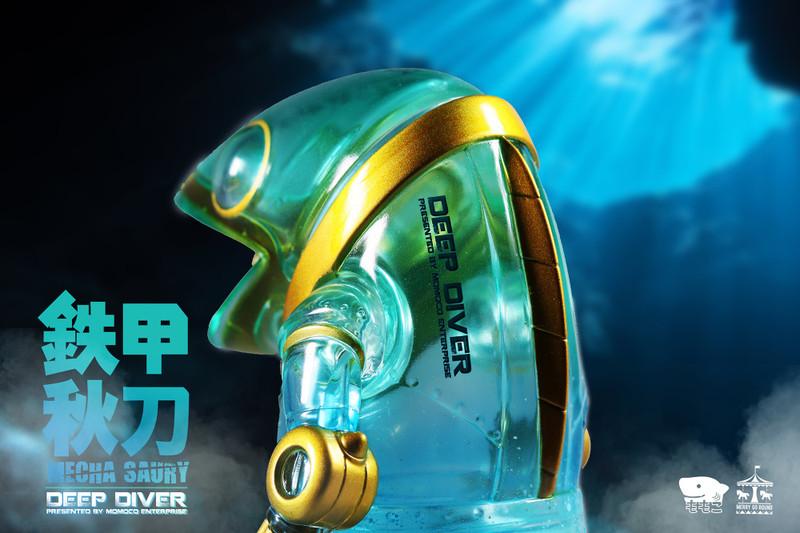 Mecha Saury Deep Diver by Momoco PRE-ORDER SHIPS LATE JAN 2021