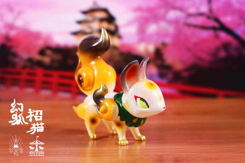 Phantom Fox Maneki-Neko by Genkosha