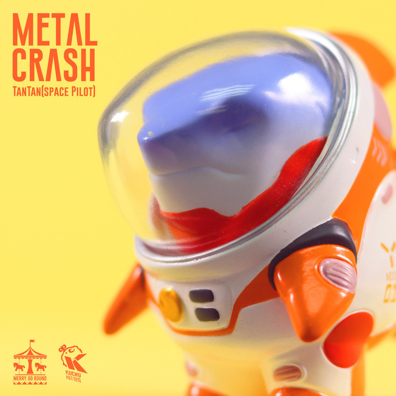 Space Pilot TAN TAN Metal Crash by Kuchu PRE-ORDER SHIPS LATE JAN 2021