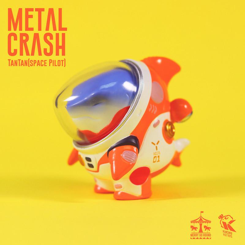 Space Pilot TAN TAN Metal Crash by Kuchu PRE-ORDER SHIPS DEC 2020