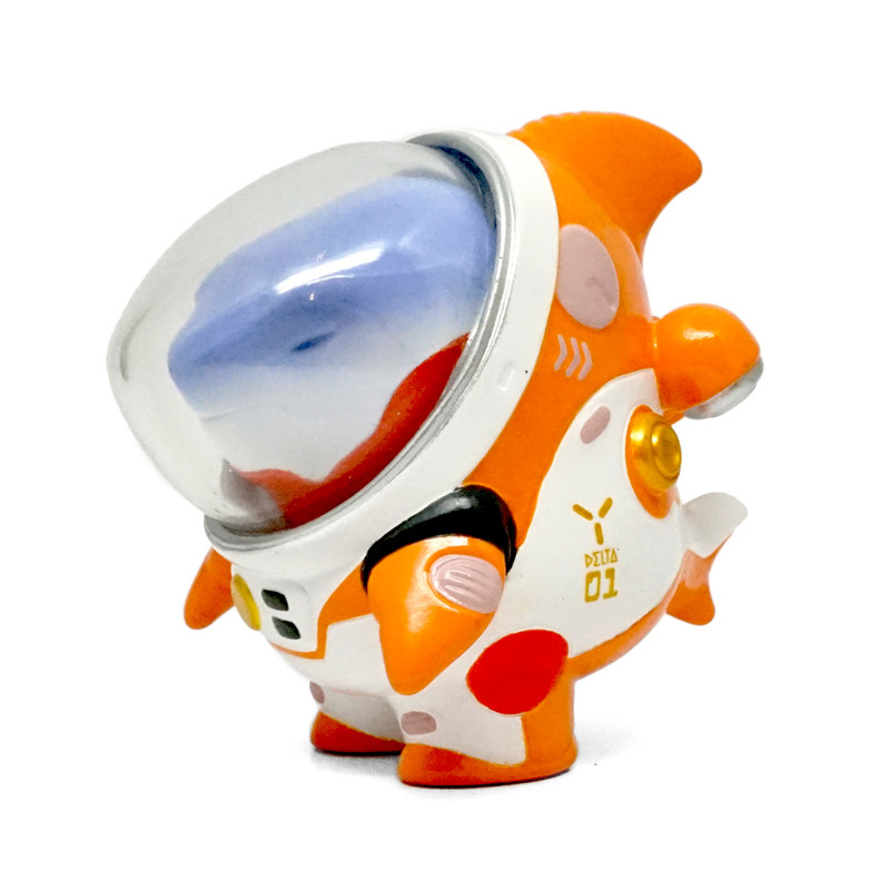 Space Pilot TAN TAN Metal Crash by Kuchu