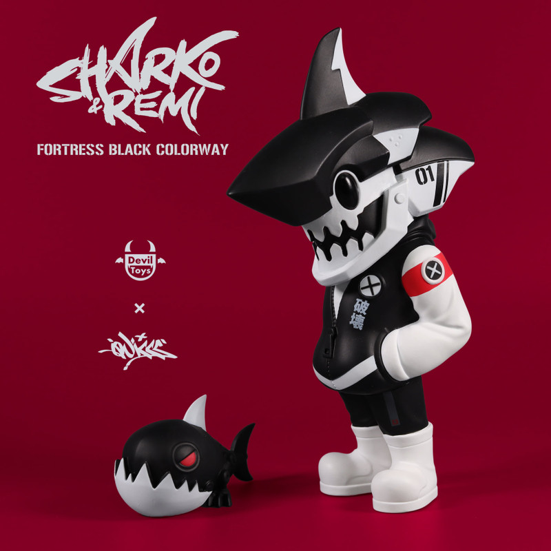 Sharko & Remi Fortress Black by Quiccs x CHK DSK