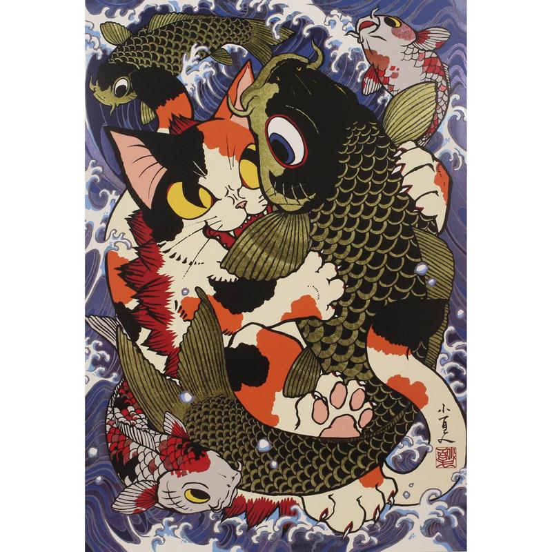 Negora vs. Koi Prism Poster by Konatsu PRE-ORDER SHIPS DEC 2020