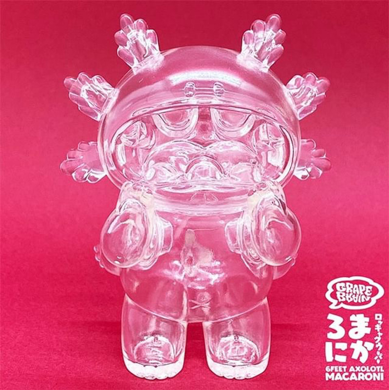 Macaroni Clear by Grape Brain PRE-ORDER SHIPS DEC 2020