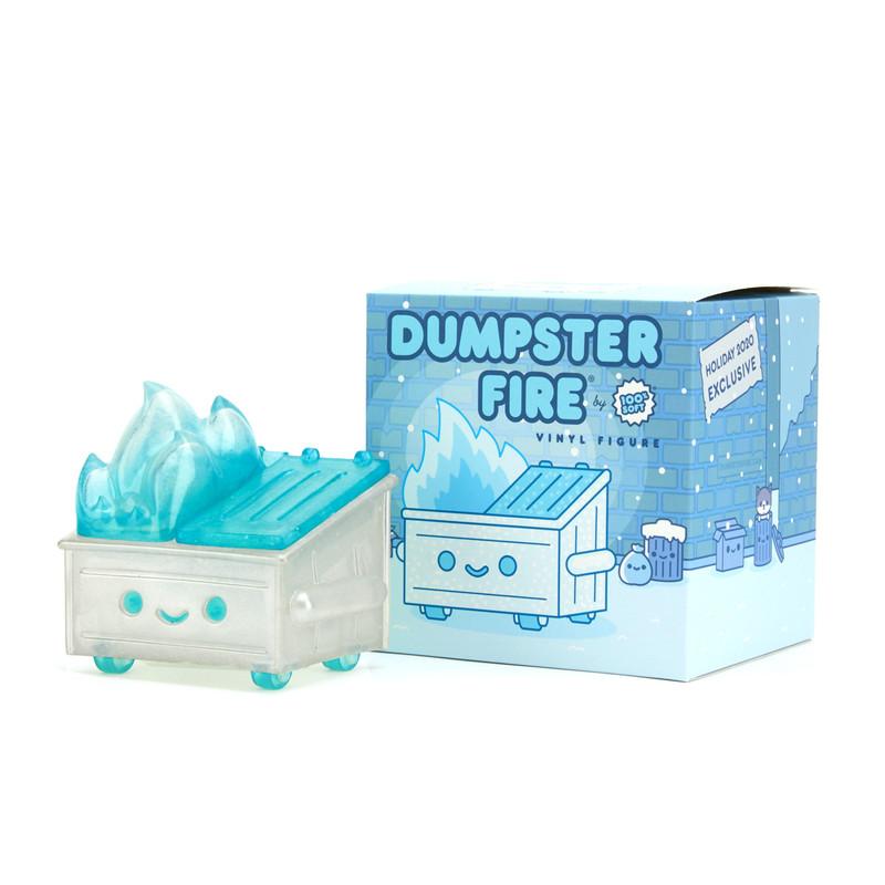 Dumpster Fire Vinyl Figure Frosty Trash