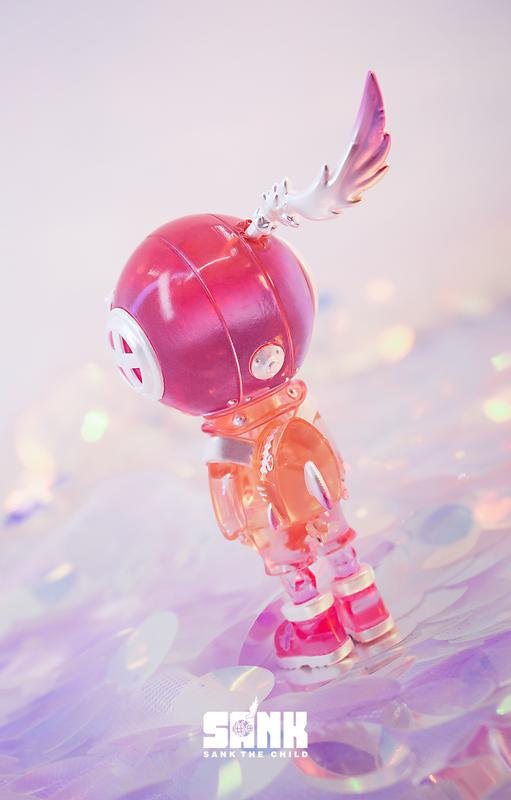 Backpack Boy Spectrum Series Pink Light by Sank Toys PRE-ORDER SHIPS DEC 2020