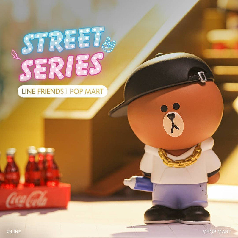 Line Friends Street Series Mini Series Blind Box