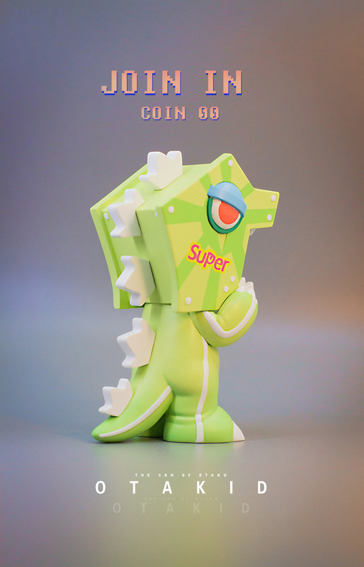 OTAKID Baby Dinosaur Green by Sank Toys PRE-ORDER SHIPS DEC 2020