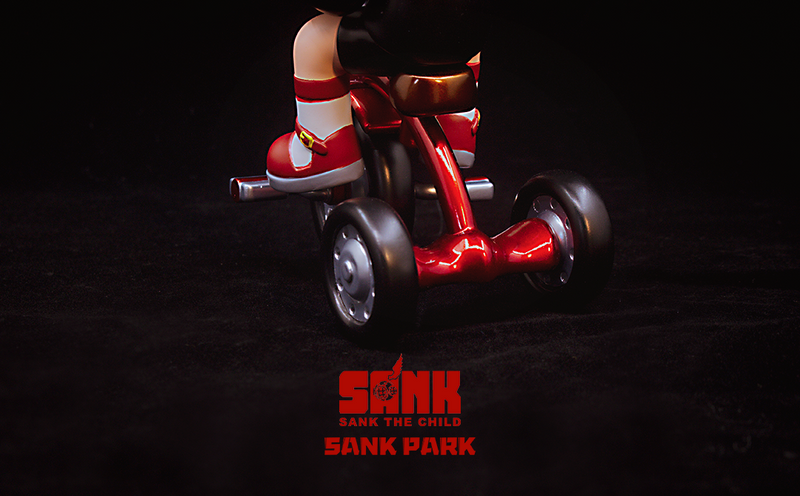 Sank Park Fly Away Home Black Swan by Sank Toys PRE-ORDER SHIPS JAN 2021