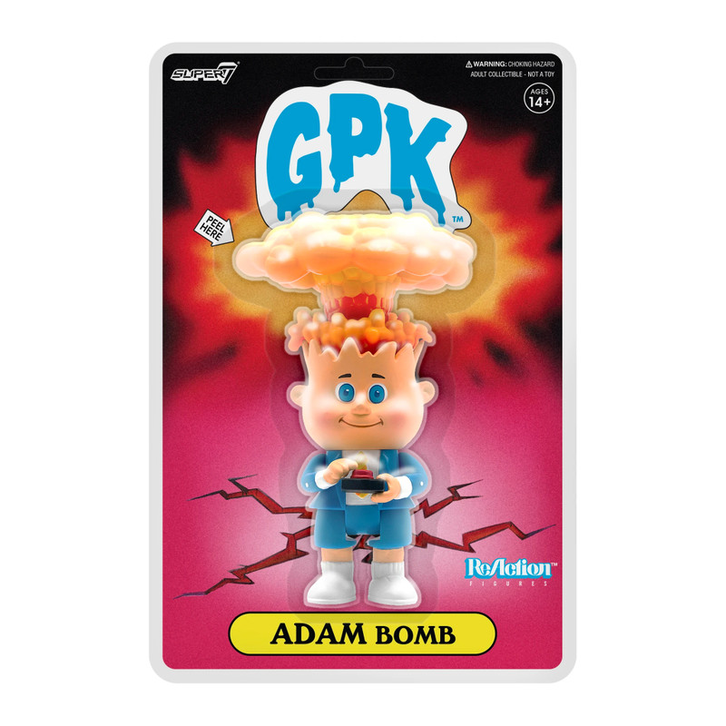 ReAction Garbage Pail Kids Adam Bomb