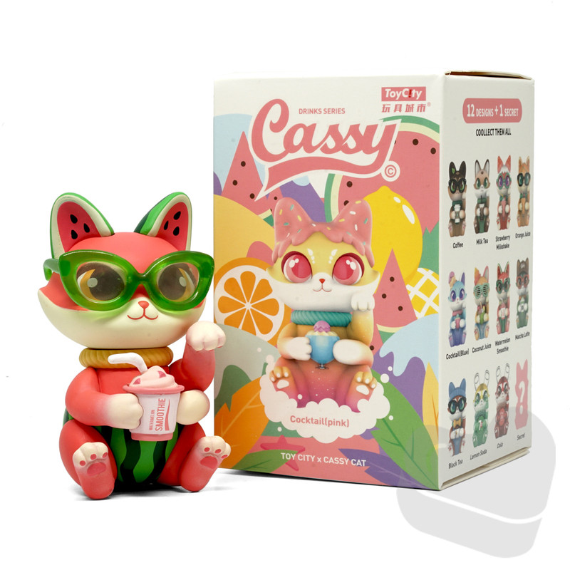 Cassy Drinks Series Blind Box by Sally