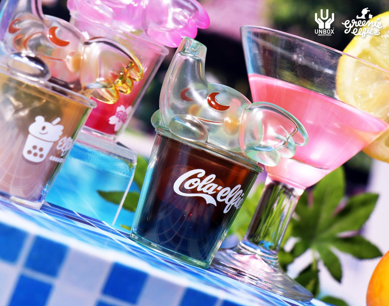 Cafe Elfie Drinks Blind Box by Greenie & Elfie PRE-ORDER SHIPS MAR 2021
