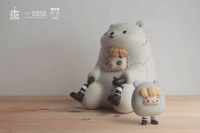 White and White Mail + Mini by Two Hands Studio PRE-ORDER SHIPS APR 2021