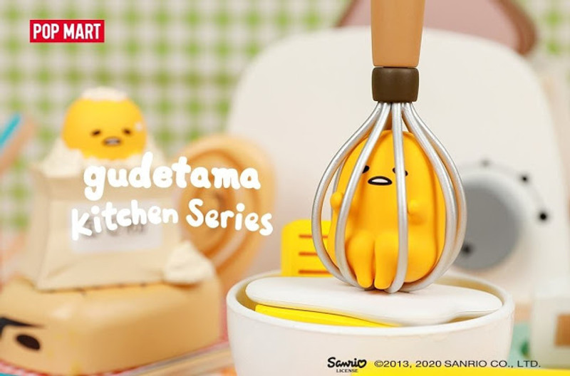 Gudetama Kitchen Mini Series Blind Box PRE-ORDER SHIPS FEB 2021
