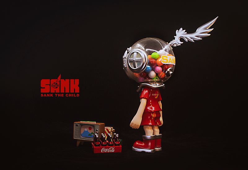 Little Sank Crimson by Sank Toys PRE-ORDER SHIPS JAN 2021