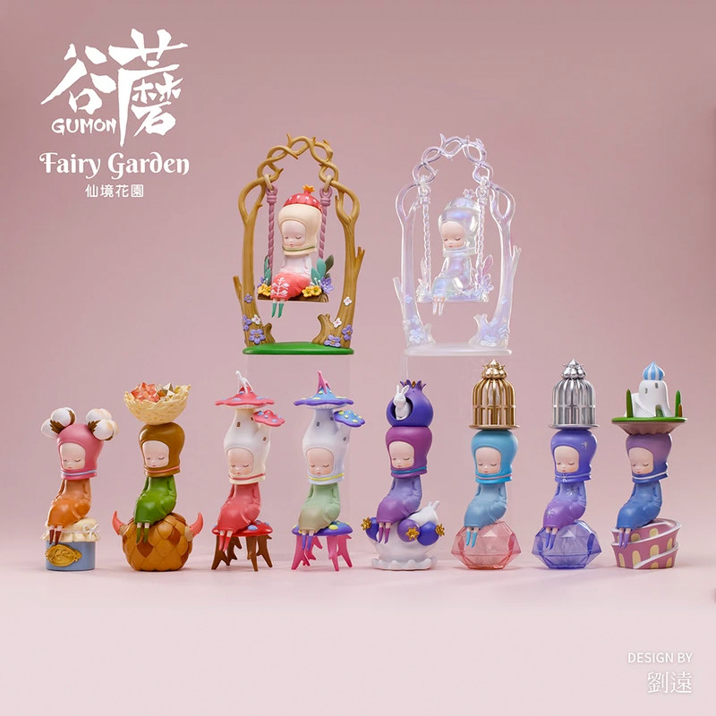 Gumon Fairy Garden Blind Box by Yuan Liu PRE-ORDER SHIPS FEB 2021