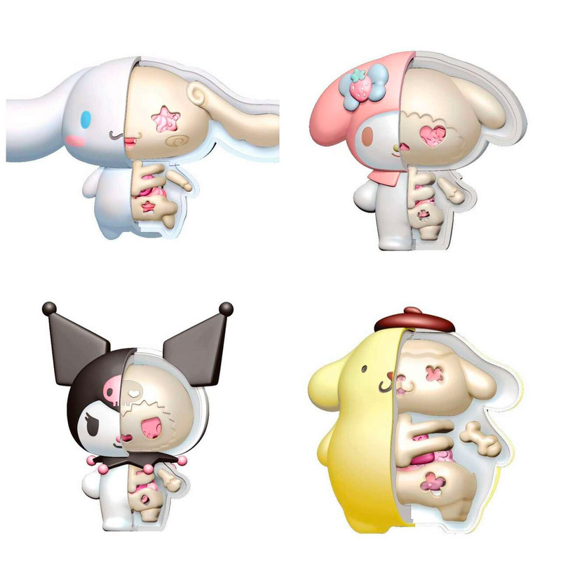 KAITAI Fantasy Sanrio 3D Puzzles Set of 4