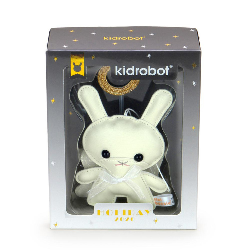 Holiday Dunny Ornament Twinkle By Flat Bonnie