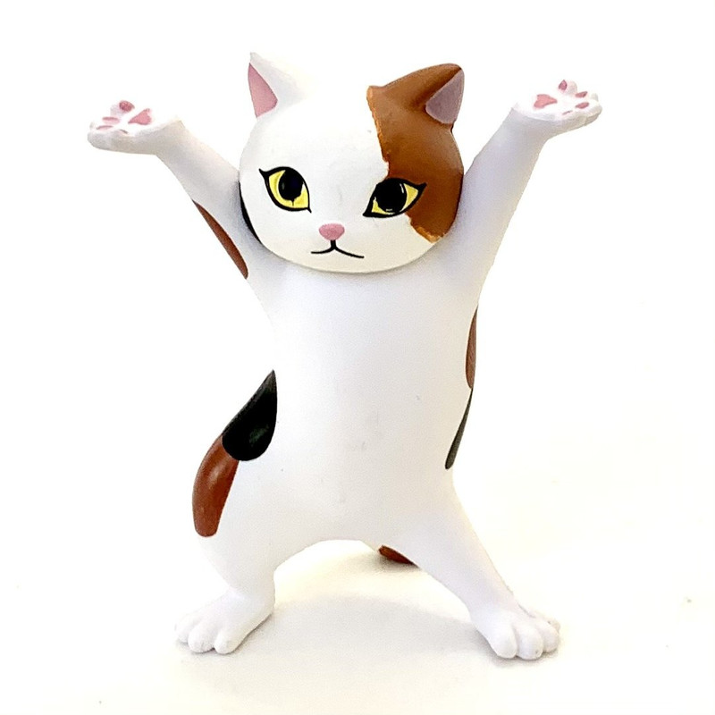 Cat Pen Holder Capsule Toys