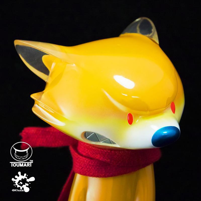 Tona the Angry Fox by OkLuna x Touma PRE-ORDER SHIPS JAN 2021