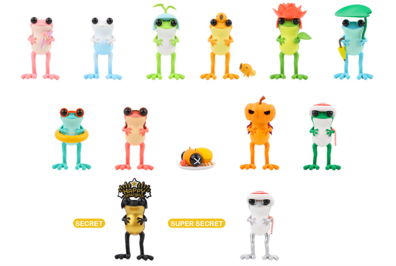 APO Frogs 12 Months Blind Box by Twelvedot